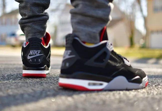 越来越近了!黑红 Air Jordan 4 发售日期提前!