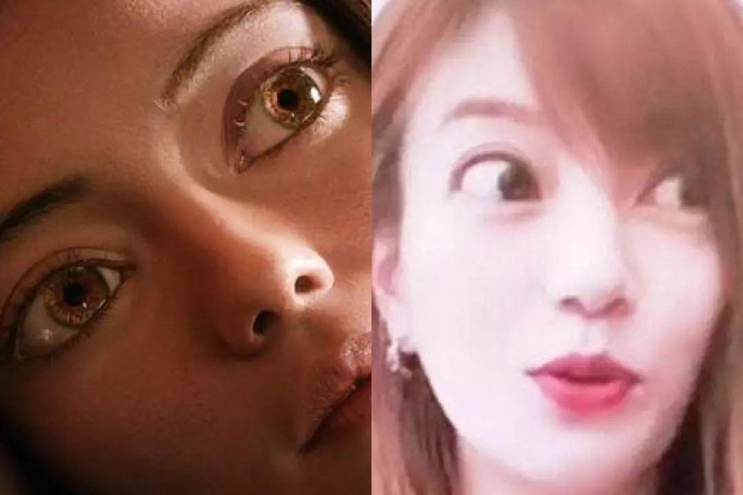 """赵薇也栽在了网红滤镜下,美图后的她眼睛大的吓人,实力cos""""阿丽塔"""".图片"""