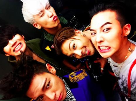 BIGBANG某官号封面仍是胜利 团队有望年底回归娱乐圈