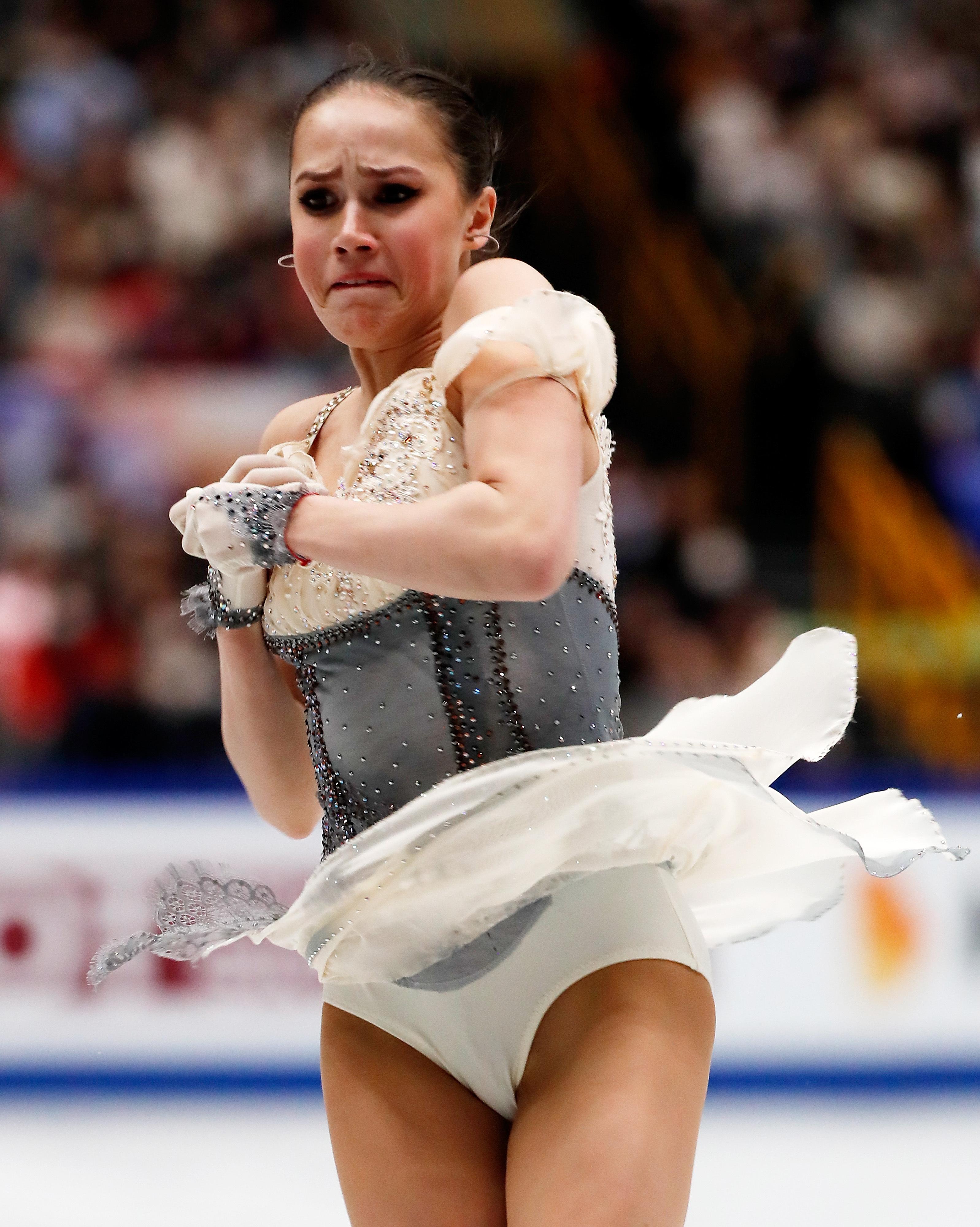 花样滑冰——世锦赛:女子单人滑短节目赛况