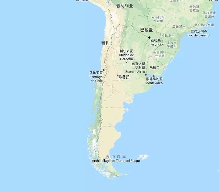 智利gdp_智利地图