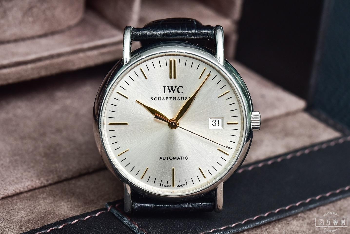 男人出去就得有块表 看中万国柏涛菲诺系列IW356303腕表 常州高价回收万国手表