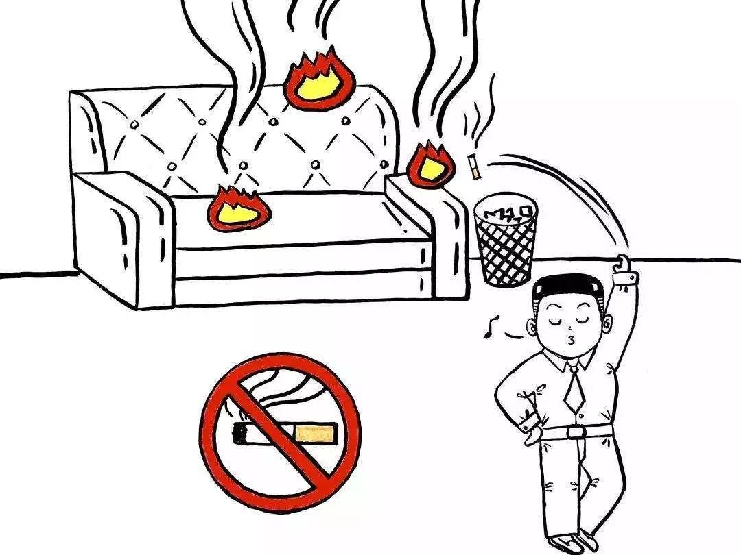 配电箱、电器控制柜下堆放可燃物品   配电箱、重要电器控制柜是电器的总开关,一旦发生故障,容易短路产生电火花,引燃周边可燃物,发生火灾.