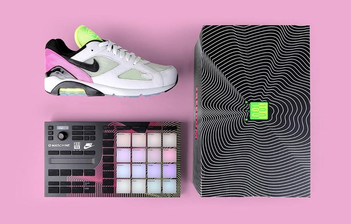 球鞋+电子乐特别套装!Nike x NATIVE INSTRUMENTS致敬柏林夜生活!