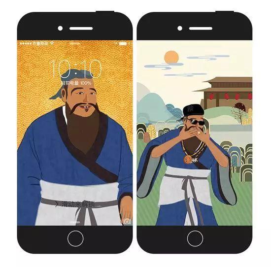 如果古人有手机,会发生什么好玩的事情?网友的脑洞太大了哈哈哈哈(图8)