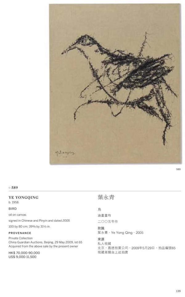叶永青画作被撤拍,刘益谦称花钱为西尔万办展是为看清图片