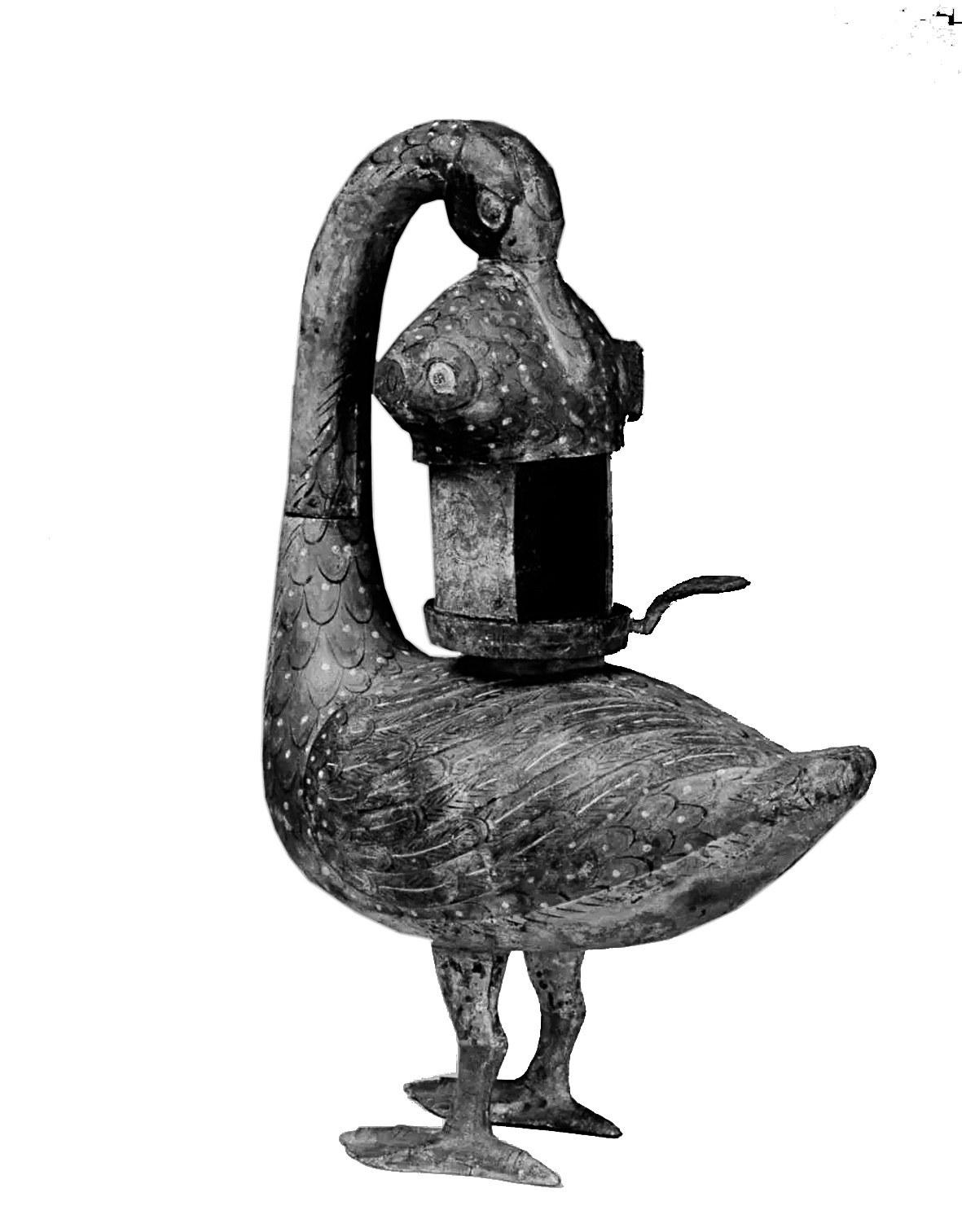 雁鱼灯,西汉流行于贵族阶层的环保灯