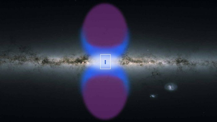 欧洲航天局XMM-Newton探测器在银河系核心处发现了银河烟囱