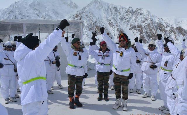 巴铁山地部队和印度廓尔喀营首次面对面较量