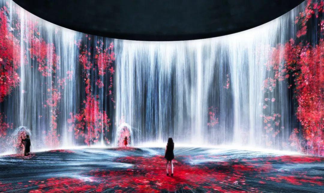 风靡全球的teamLab,空降上海油罐艺术中心