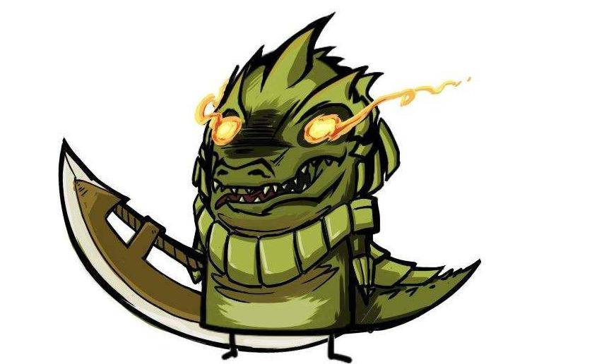 英雄联盟 鳄鱼打剑姬太简单了,注意这个细节,对方没有W技能