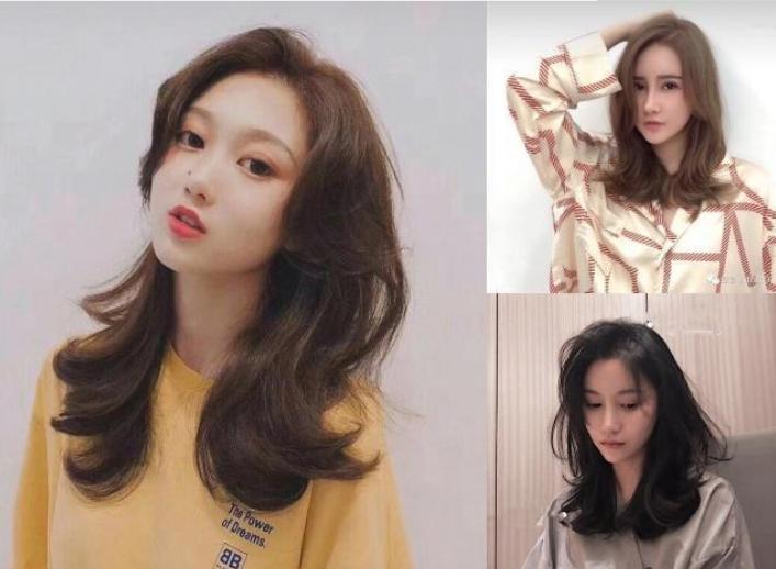 """2019""""懒人烫""""发型很流行,换上之后超显脸小!图片"""