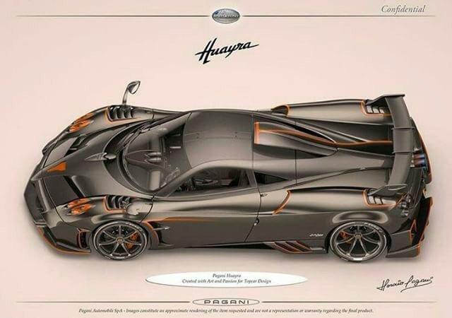由TopCar Design订购的帕加尼Huayra最疯狂的合法
