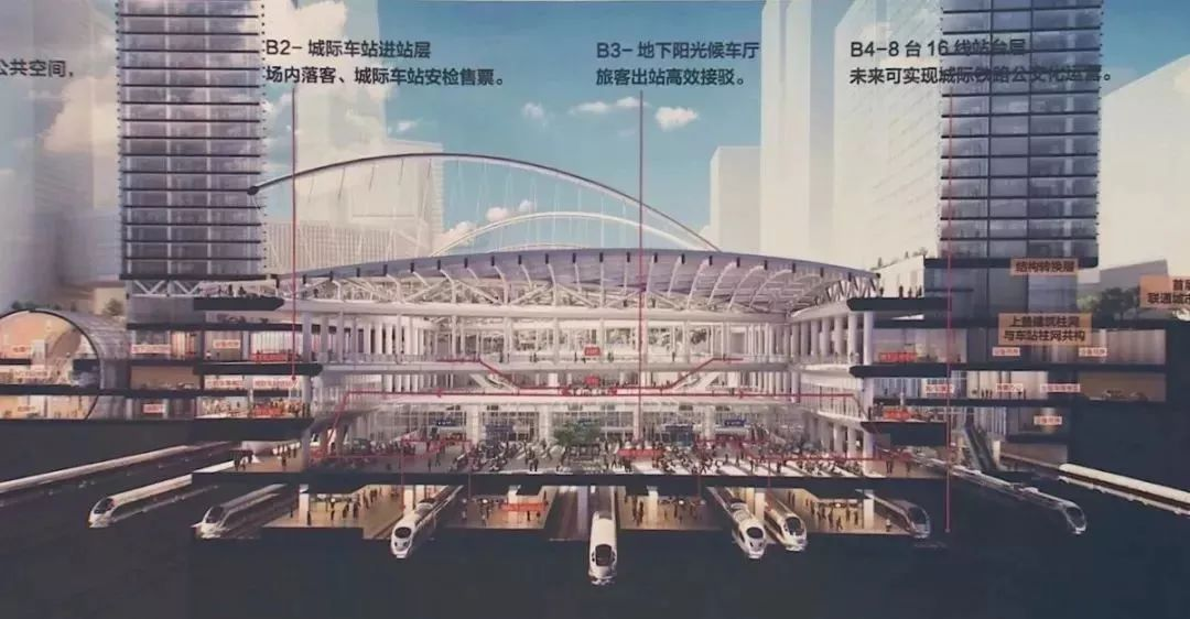 副中心站综合交通枢纽年内开工