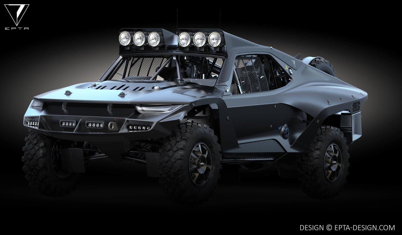 超级暴躁的越野怪物:沙漠风暴卡车