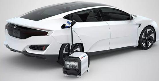本田新一代氢燃料电池汽车fcv