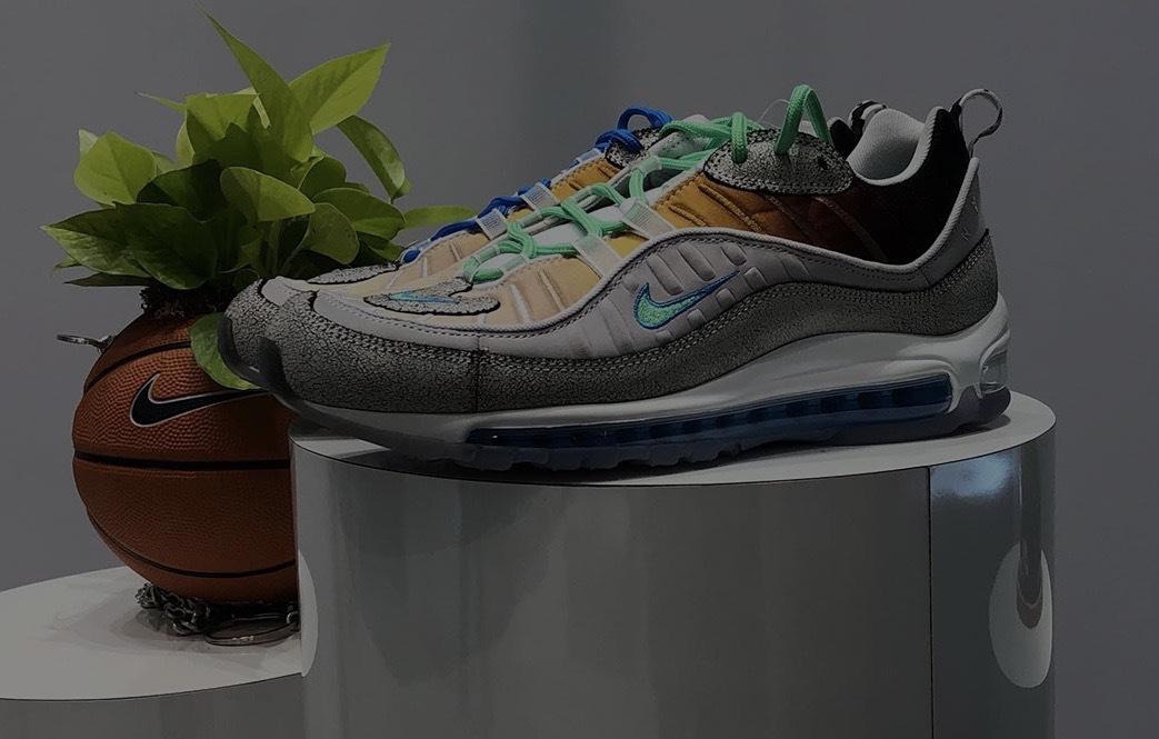 "Sean Wotherspoon联乘的节奏?Nike Air Max 98 ""La Mezcla"""