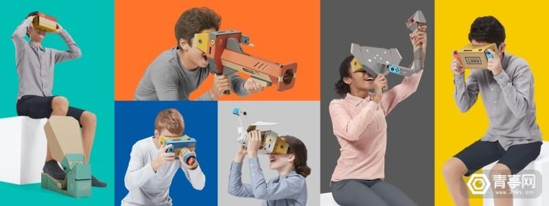 任天堂VR Kit:论创意我是王者,将DIY和VR发扬光大