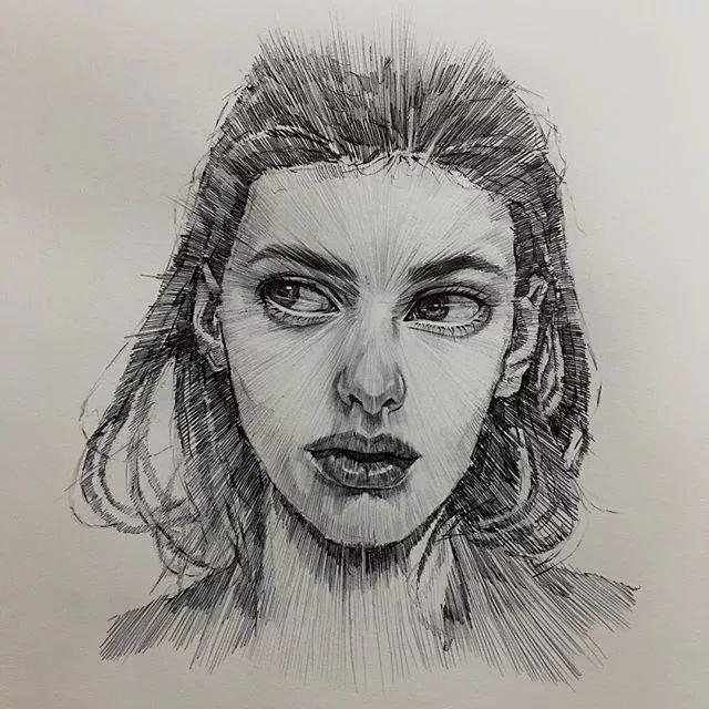 人物手绘的张力从素描开始