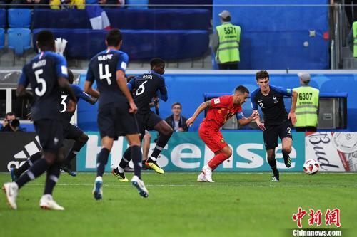 欧预赛:阿扎尔造点+梅开二度 比利时3:1俄罗斯
