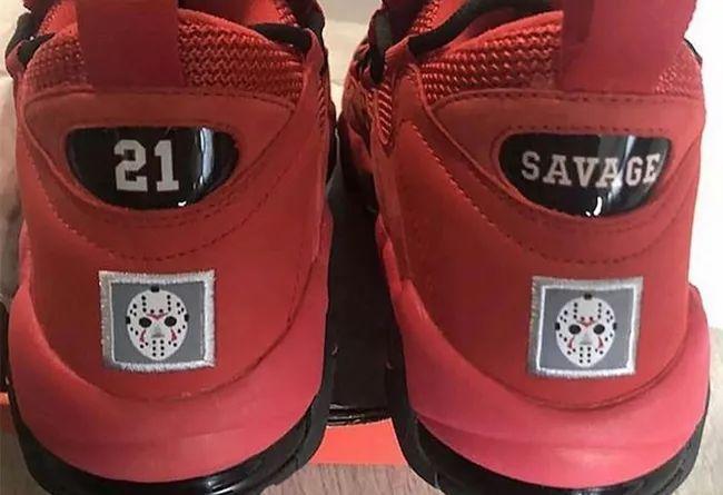 Rapper 又来设计球鞋了!21 Savage x Nike