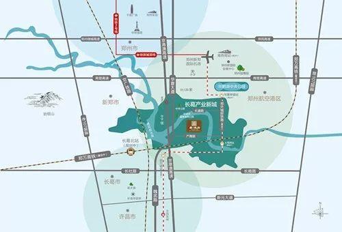 长葛产业新城这小区 三面环水,还有四大公园