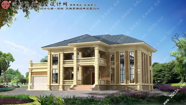 农村两层楼房设计图纸首层340平方米楼房设计图纸