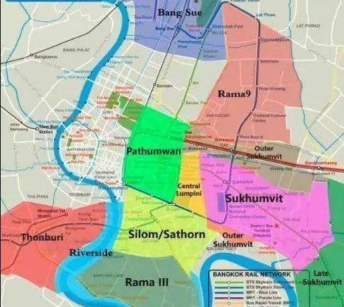 曼谷人口密度_偷偷告诉你,未来十年,曼谷升值之最的房子都在这几条线上