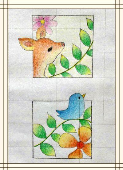 小年糕绘画训练营佳作来袭,神奇画笔唤醒大地之春
