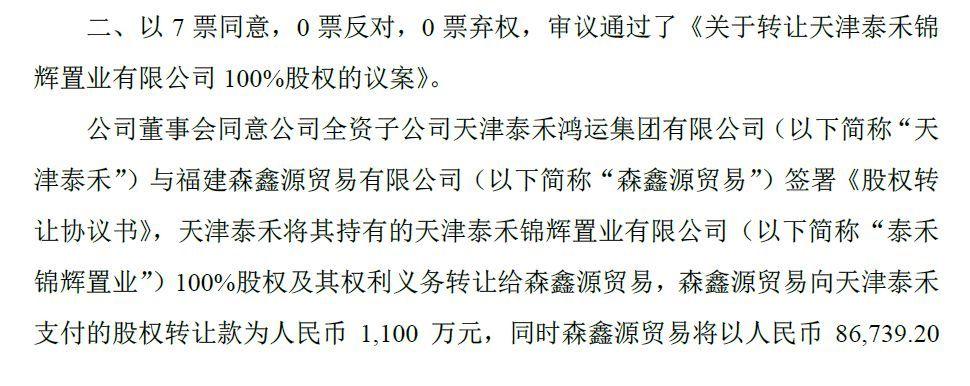 泰禾川洋旗下艺人 泰禾集团辟谣:网传旗下天津项目4亿款项未能及时支付不实