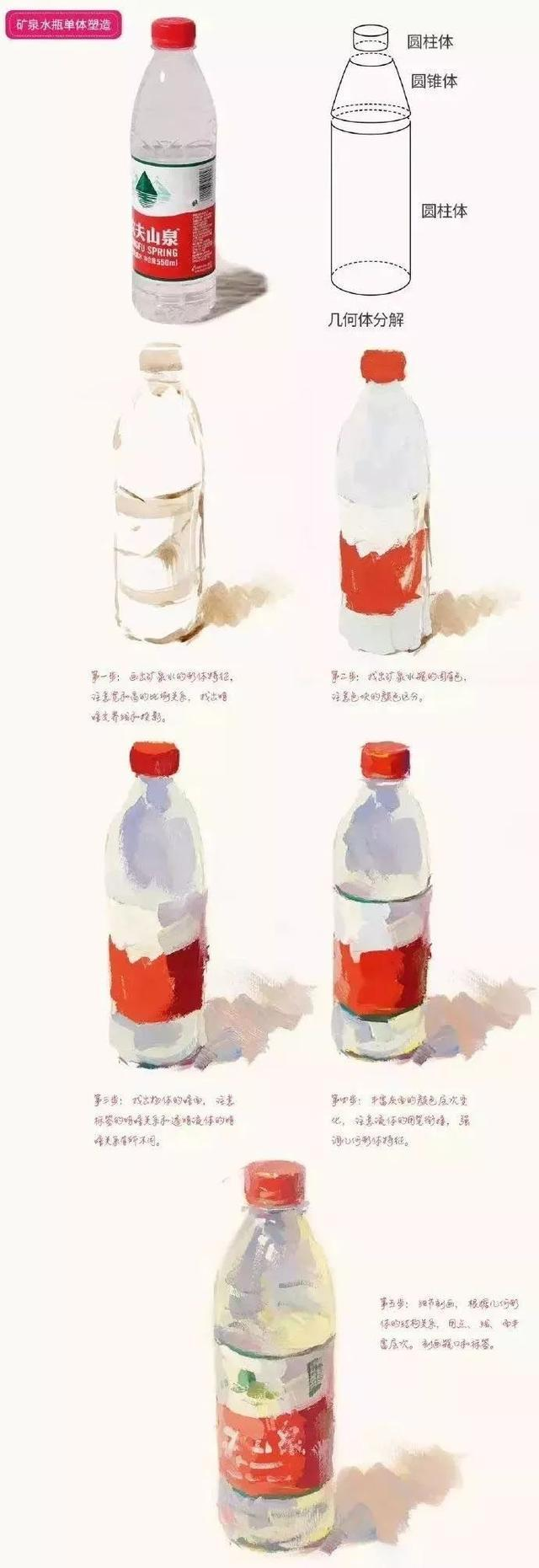 单个静物色彩_想画水粉,必须从单个静物学起_技法