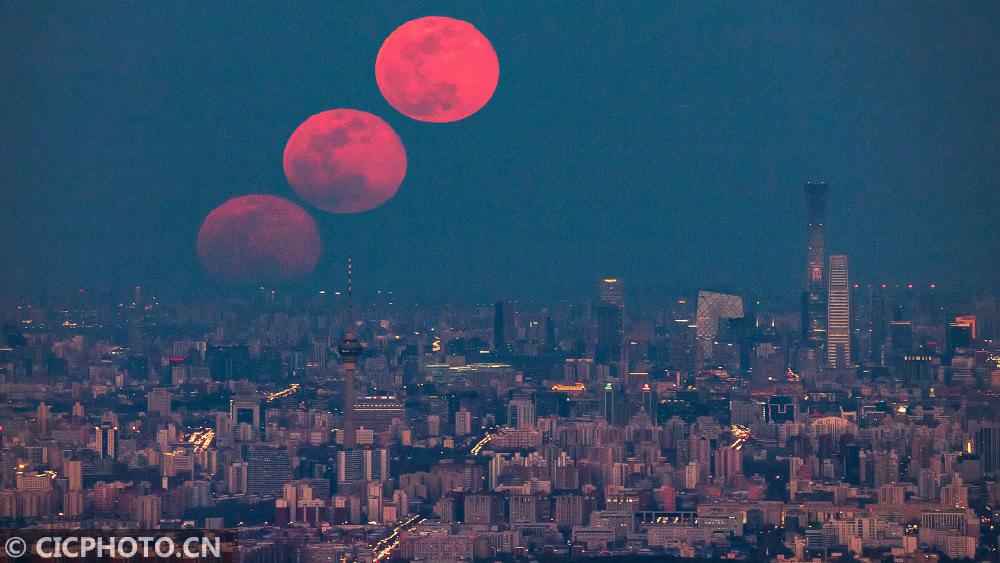 春分夜 超级月