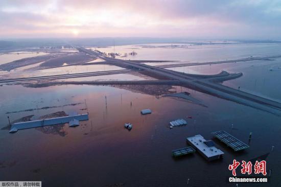 美国气象部门:全美或有2亿人面临洪灾风险