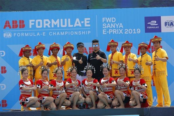 槟榔谷助力三亚FE赛事传统文化与现代竞技交相辉