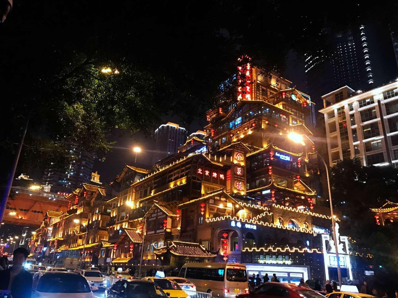 发现美丽景色,看不一样的人民大礼堂,重庆旅游要跟风吗