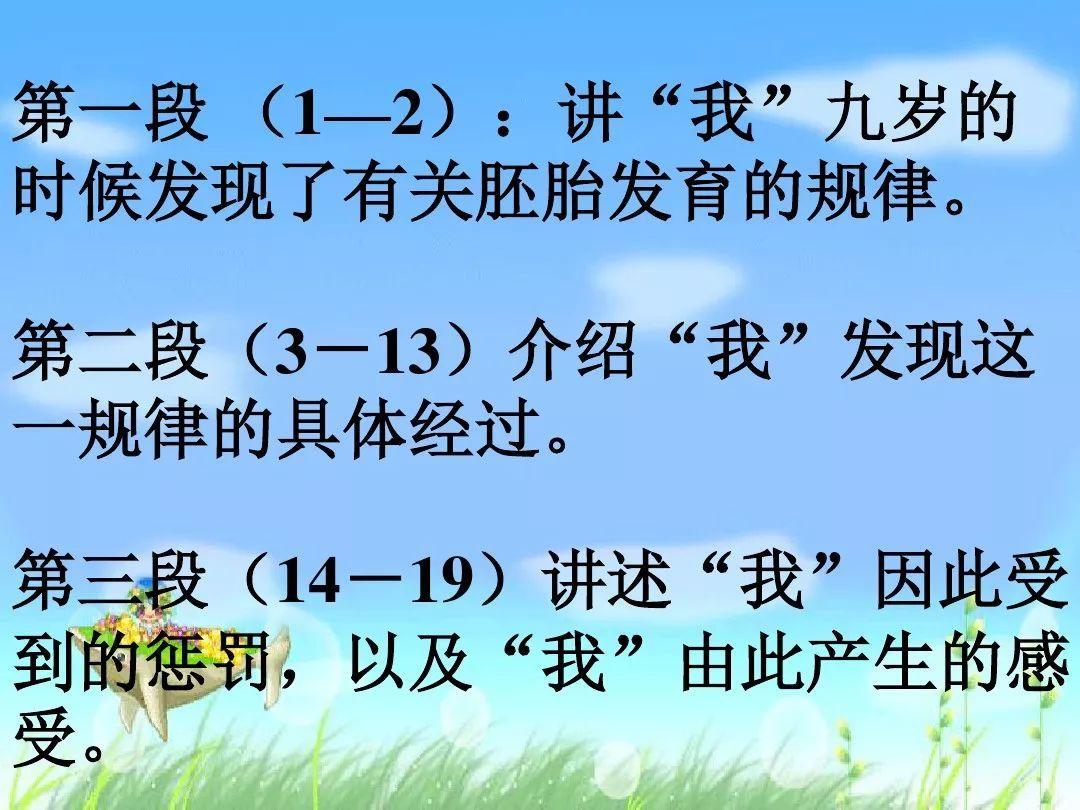 人教版五年级下册语文书第5课_学识网
