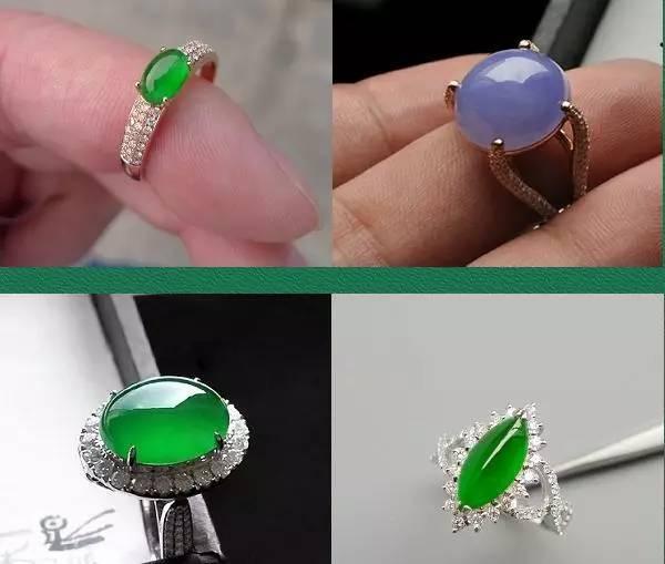翡翠戒指和手镯测试方法 收藏备用图片