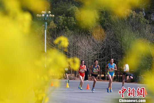 2019年全国春季越野跑锦标赛开赛