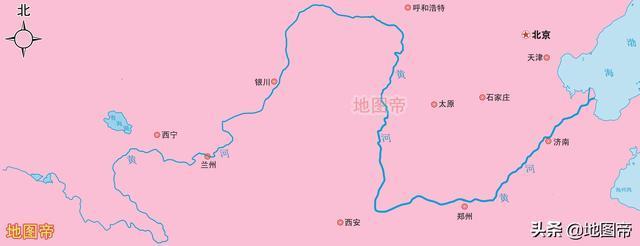 """古代渤海為何比現在大,與黃河的泥沙有關嗎?_時候"""""""
