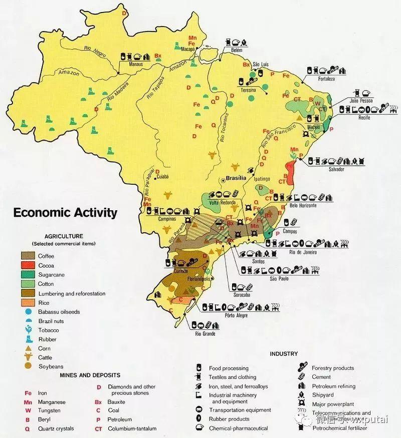 巴西 gdp_丢掉实体经济有多可怕 一个曾远超中国,堪比日本 韩国的工业大国竟衰败成这样