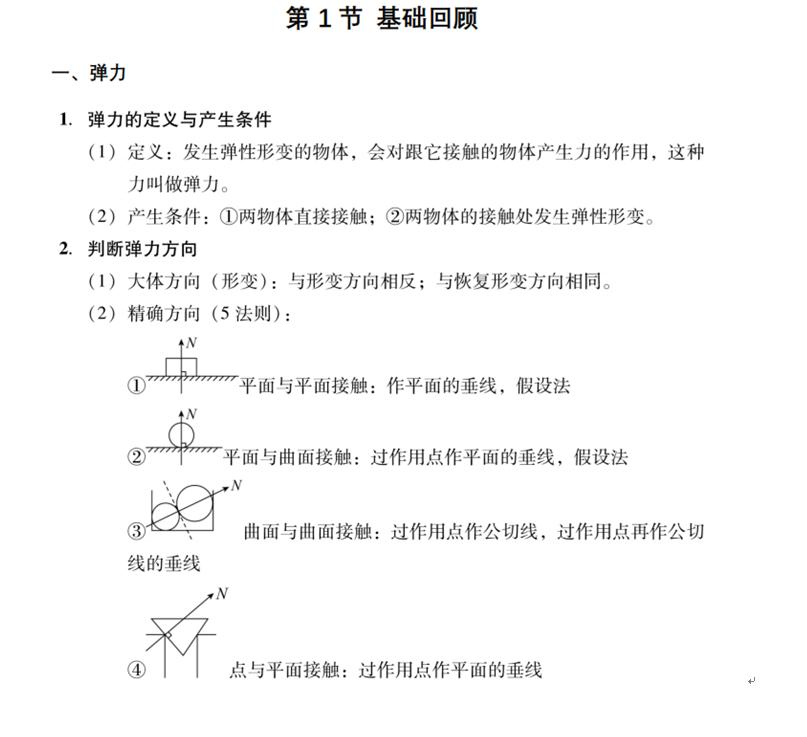 高中物理学习方法,最完整的物理模型总结,高考90+必备