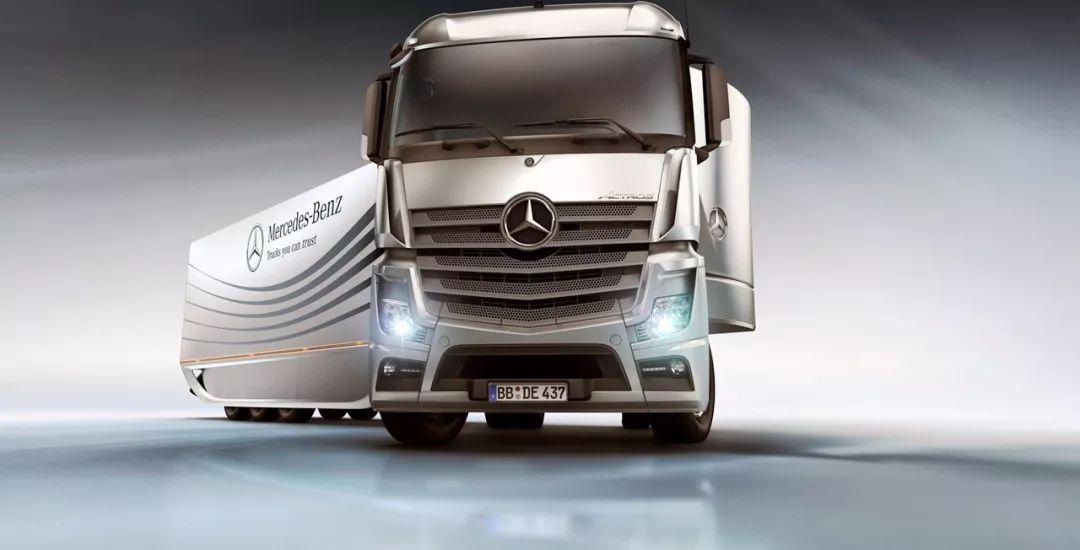 奔驰卡车2019新的攻守道
