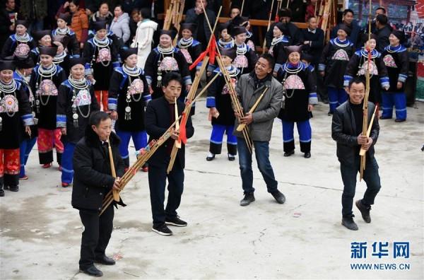 贵州剑河:欢度芦笙歌舞文化节