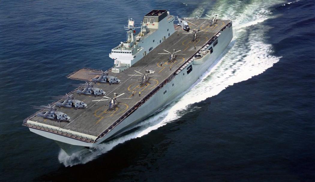 071将不再孤独,这型舰艇照实现零冲破, 驶向蓝海将强大两栖气力