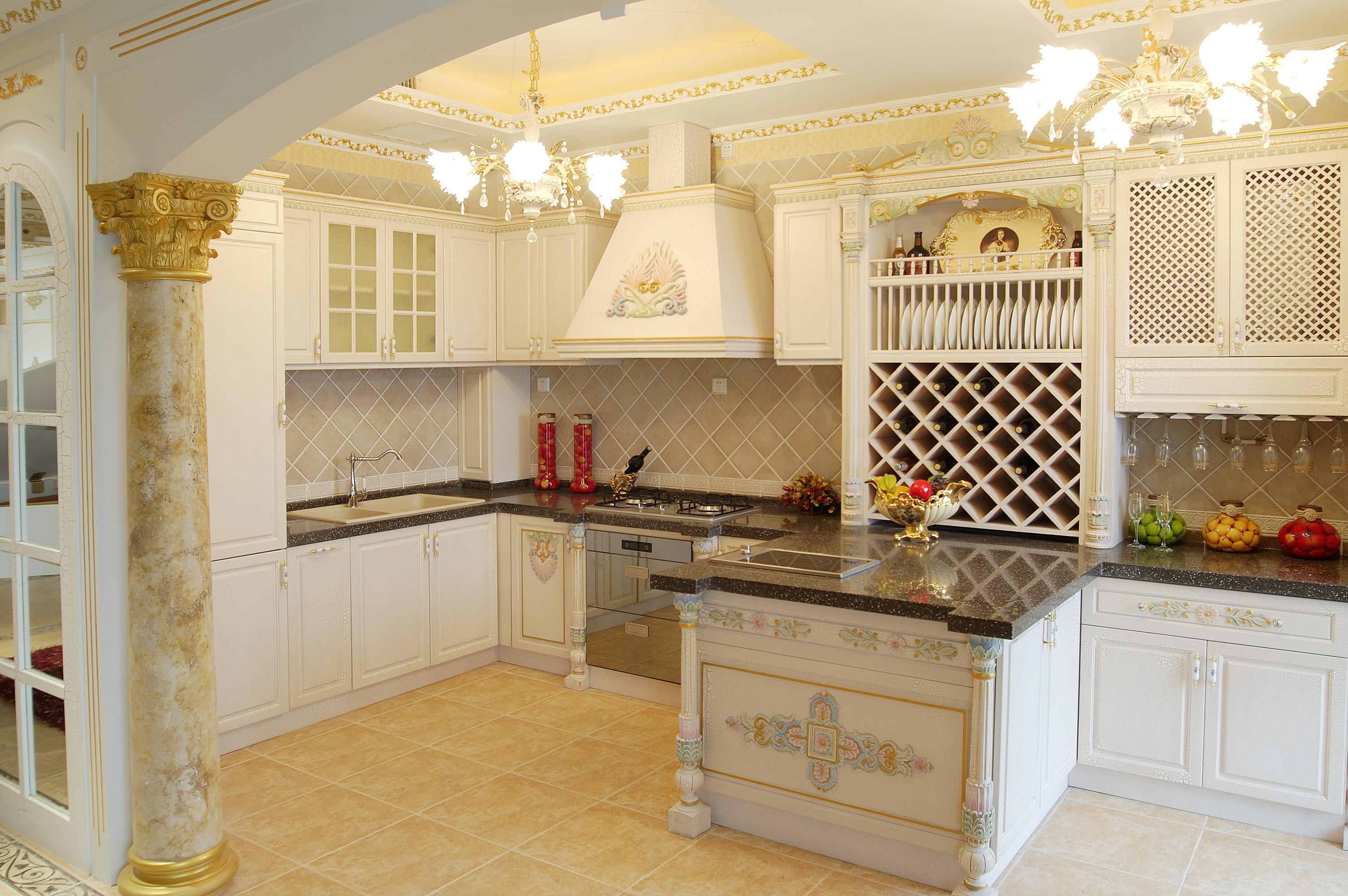 宴会厨房装修图片