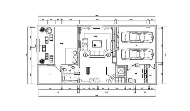 四马拖车房子平面图