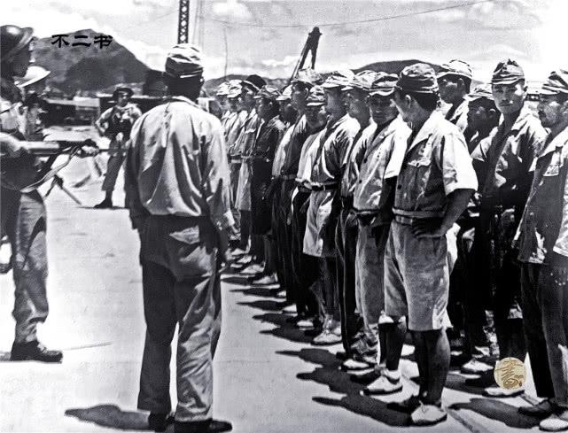 老照片:直击日军战败投降的真实镜头 曾经多猖狂败时
