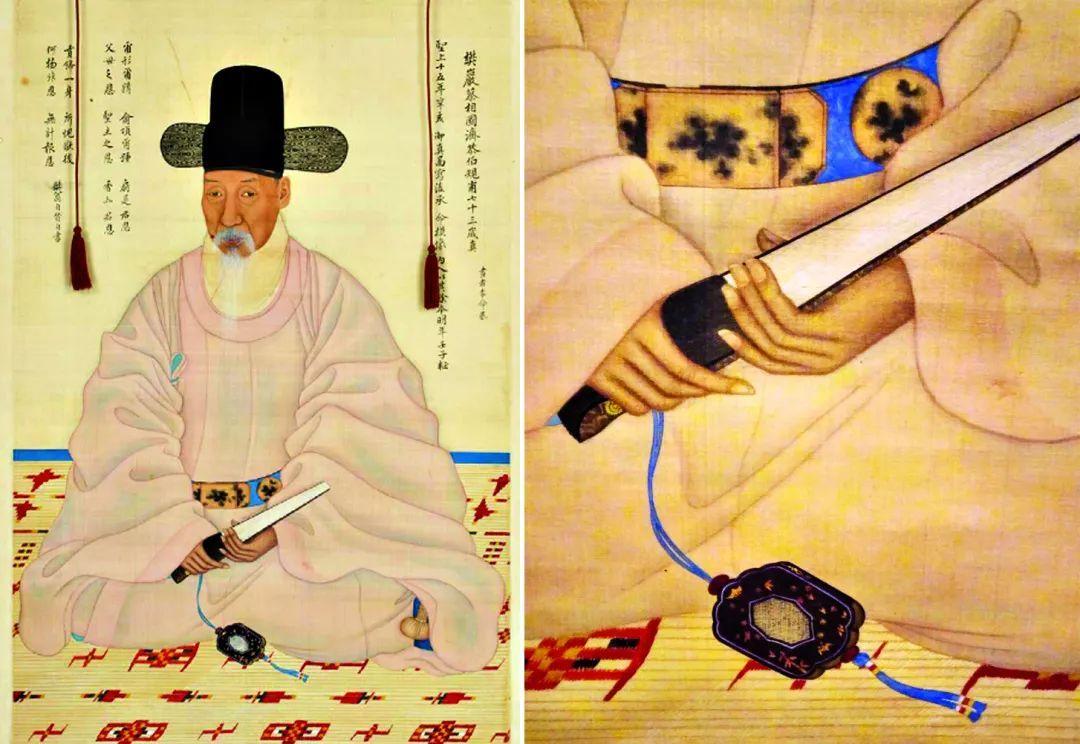 犀皮斑纹_文史 | 他们的扇子,也有一番儒家意味……_装饰