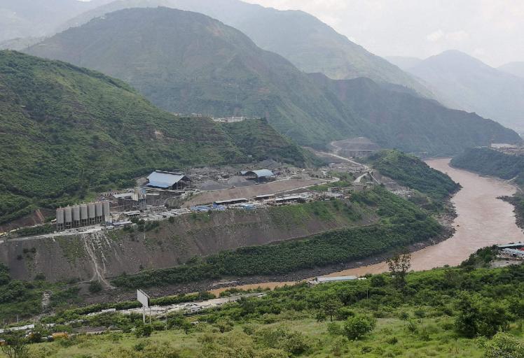 揭开全球第一大水电站白鹤滩水电站神秘面纱图片