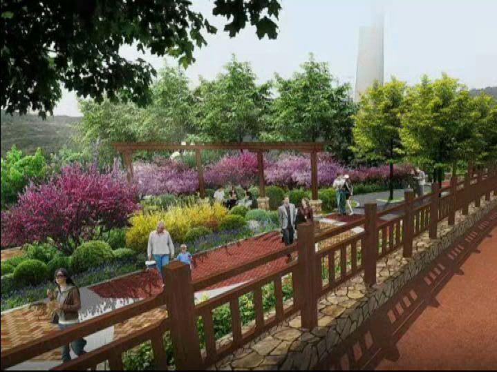看!大连这座新公园建在峭壁间